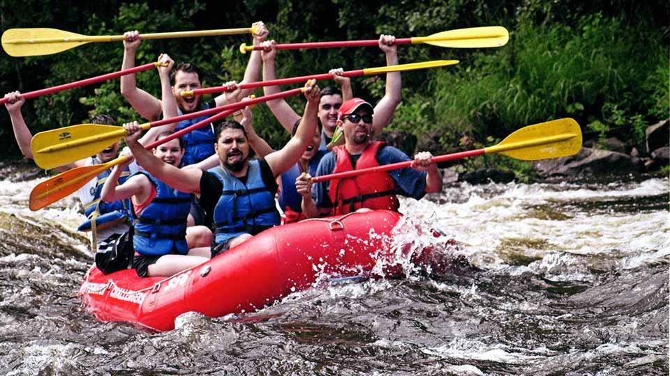 Nimble Rafting Experience